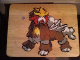 Perler entei ...again by dylrocks95