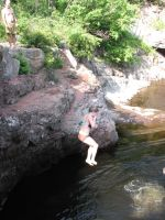 Cliff Jumping 4 by calebrw