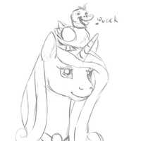 Cadence with a hat by Fungicaprafelipodae