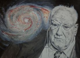 Sir Patrick Moore by xmaryxedgex