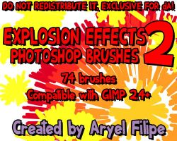 Explosion Effects PS Brushes 2 by TheSharkMaster