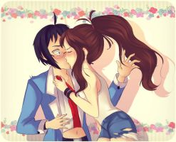 STFU and kiss me by Sylvemoon
