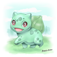 sweet bulbasaur by freak-sider