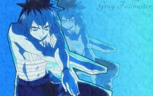 Gray Fullbuster - Made by me by BlueShinigami98