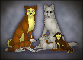 Family Portrait by Tydii