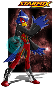 Falco Lombardi by slimthrowed