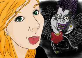 Me and Ryuk by TheDreamOfBlackCat