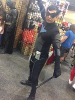 Phoenix Comicon 2014 Nightwing by Demon-Lord-Cosplay