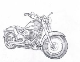Motorcycle Sketch by WforWumbo