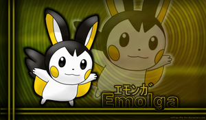 Emolga by Foxie-The-Vulpix