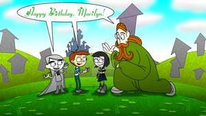 COMMISSION - Happy St. Patrick Birthday, Marilyn! by JIMENOPOLIX