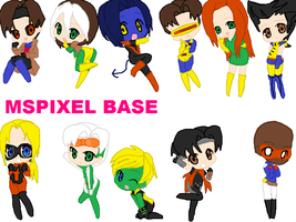 x-men and young avengers by ThePastelHobbit