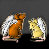 Angelic Mice by Khalico