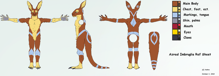 Azreal Ref Sheet by Yarbro