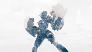 Double Exposure Vi Wallpaper by TraX1m