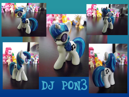 Custom Blind Bag - DJ PON3 by Scarletts-Fever