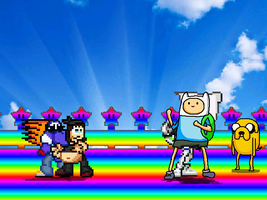 .:MUGEN - MLSS Rainbow Road Stage Update:. by TuffTony
