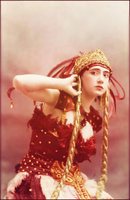 Tamara Karsavina as the Firebird by asphycsia