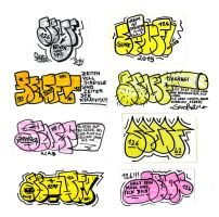 Fresh new T-up-stickers by Senf42