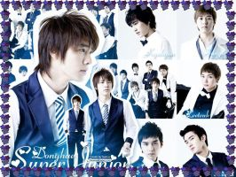 Donghae and SuJu by crystalSHINee4evr