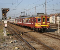 SNCB 268 at Brussels by JSH50