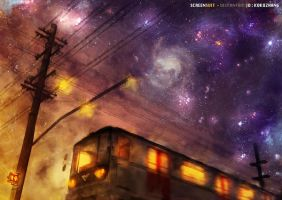 Train ( Re-Made ) by studioedelyn