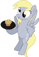 Derpy Butler by FastFrost