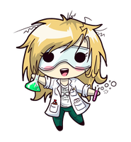 Squishy Scientist - Rachel by JammyScribbler