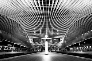 Symmetry - Liege-Guillemins IV by ThomasHabets
