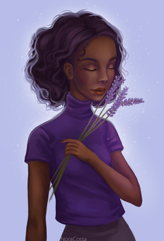 Lavender Girl by Avatalence