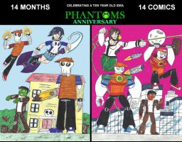 PHANTOMS Anniversary by MrCobalt67