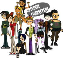 Original Characters by DecaffeinatedGeorgie