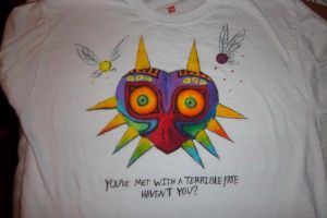Majora's Mask Shirt Design by Bellared