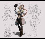 Character Design Capt Forte Flora by magion02