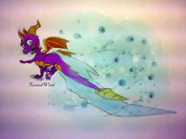 spyro ice attack by twisted-wind