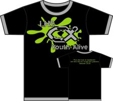 Youth Alive T-Shirt by Shellbug