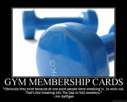 Gym Membership Cards by Balmung6