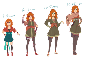 ~costumes by ages~ by KAMMI-LU
