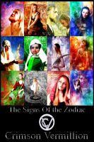 The Signs of the Zodiac by crimsonvermillion