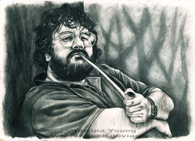 Hobbit-y Peter Jackson by RohanElf