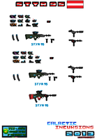 Concept Weapons Styr 95 SMG by Luckymarine577