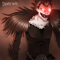 Shinigami Ryuk by Scheve94