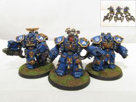 Ultramarine Centurions by Indefiknight