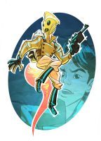 The Amazing Rocketeer by splendidriver