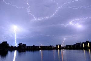 Crazy Lightning by freeskifreeride