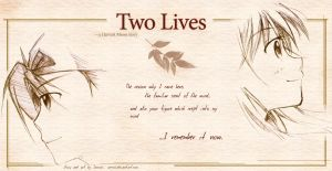Two Lives-coverSEPIA-colored-- by Incross