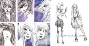 Sketch dump cards by 3lda