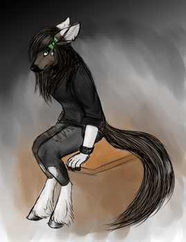 Edgy Embyr by wolfie115