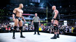 The Rock and Stone Cold Wrestlemania XIX by windows8osx