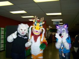 Fursuiting at the Bowling alley.. by MrEd301